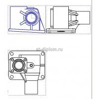 Проектирование корпуса рулевого механизма Т30.40.015
