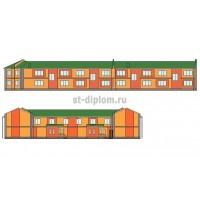 2-этажный таунхаус на 10 квартир в г.Волгоград