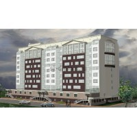 9-этажный жилой дом с административными помещениями и магазином в г.Калуга
