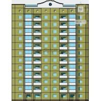 Монолитный 12-ти этажный жилой дом с подземной автостоянкой в г. Чебоксары