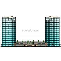 Управление проектом строительства и эксплуатации многоэтажного многофункционального комплекса недвижимости в г.Краснодар