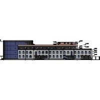 Здание АБК металлургического завода в г.Шахты