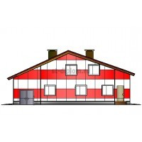 Двухэтажный одноквартирный дом в г.Саратов