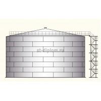 Резервуар для хранения технической воды в г. Нижневартовск