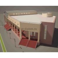 Торговый центр в г. Сыктывкар