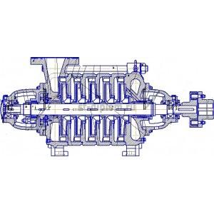 Насос для перекачивания нефти ЦНС-180