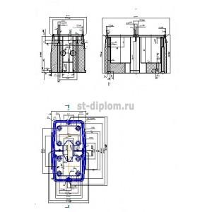 Литьевая пресс-форма для заднего фонаря автомобиля ЗИЛ 17867.00.00