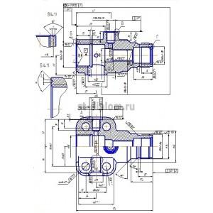 Механическая обработка детали Корпус вентиля Ф-09-01а