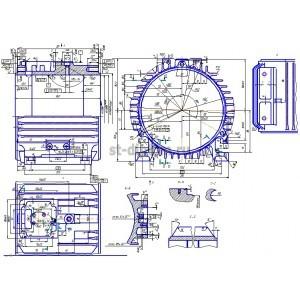 Обработка детали Станина БМШИ.733.174.029