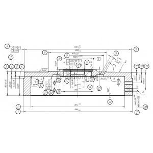 Техпроцесс обработки детали Маховик Д144-1005315