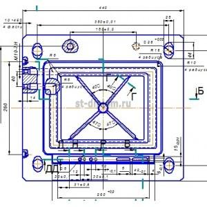 Инструментальный цех по обработке крупногабаритных прессформ с разработкой технологического процесса изготовления матриц