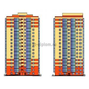 17-этажный жилой дом с нежилыми помещениями в г.Кемерово