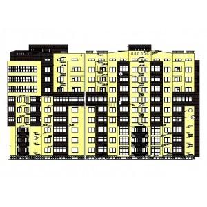 9-этажный жилой дом в составе жилого комплекса Магнолия в г.Анапа