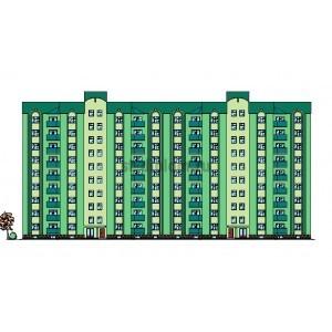 9-этажный 2-секционный жилой дом в г.Каменец-Подольский