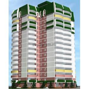 17-этажный сборно-монолитный жилой дом в г.Казань