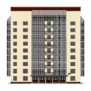 9-этажный жилой дом на сборном каркасе в г.Горно-Алтайск
