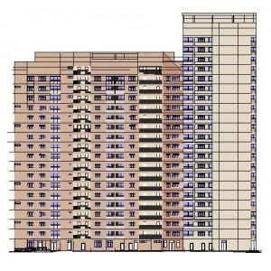 18-22-этажный 3-секционный жилой дом 2-ой категории комфортности в г.Москва