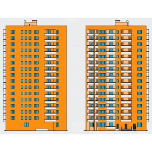 16-этажный монолитный жилой дом на 80 квартир в г.Находка