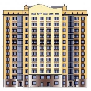 12-этажный монолитный жилой дом в г.Белгород