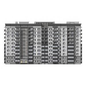 10-этажный кирпичный жилой дом в г.Вологда