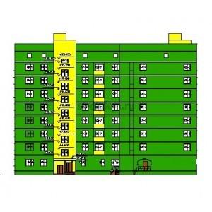 8-этажный жилой дом с нежилыми помещениями в г.Великий Новгород