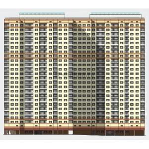 25-этажный 2-секционный жилой дом на 506 квартир в г.Москва