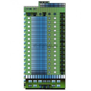 18-этажный жилой дом с офисными помещениями в г.Белгород