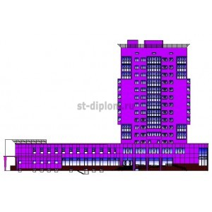 14-этажный жилой дом с блоками обслуживания в г.Челябинск