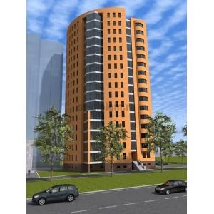 16-этажный жилой дом с офисными помещениями в г.Пермь