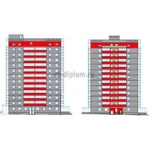 Комплекс 12-этажных жилых домов в г.Новосибирск