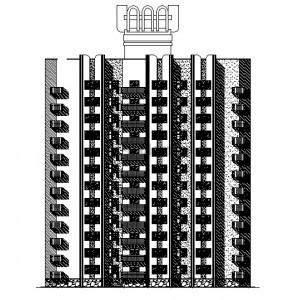12-этажный монолитный жилой дом в г.Волгодонск