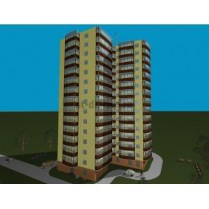 14-этажный жилой дом с помещениями бытового обслуживания в г.Казань