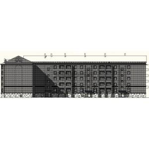 Кирпичный жилой дом на 40 квартир в г.Междуреченск
