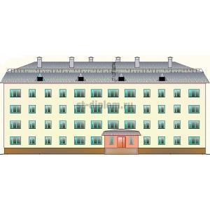 Вахтовое общежитие на 82 места в пос.Пангоды