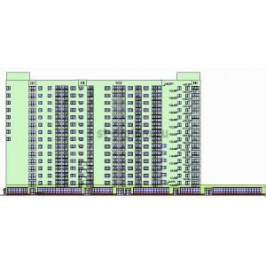 15-этажный жилой дом со встроенными помещениями в г.Самара