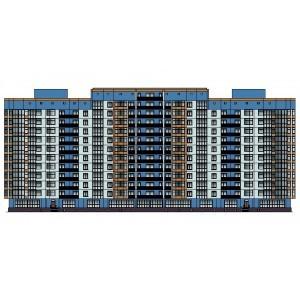12-этажный монолитный жилой дом в г.Пенза