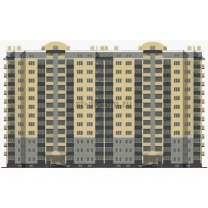 12-этажный монолитный жилой дом в г.Калининград