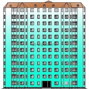 12-этажный панельный жилой дом в г.Орел