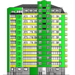 13-этажный жилой дом с мансардным этажом в г.Краснодар
