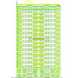 17-эт каркасно-кирпичный жилой дом в г.Тверь