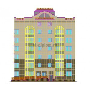 6-этажный точечный жилой дом в г.Мирный Архангельской области