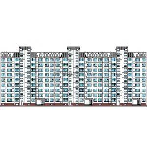 9-этажный сборно-панельный жилой дом в г.Томск