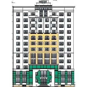 12-этажный жилой дом с монолитным каркасом в г.Краснодар