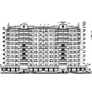 10-этажное 2-секционное жилое здание в г.Новороссийск