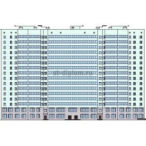 16-этажный жилой дом в г.Копейск