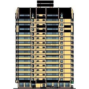 16-этажный монолитный жилой дом с офисными помещениями в г.Чебоксары