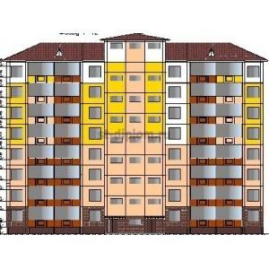 8-этажный крупнопанельный жилой дом в г.Благовещенск