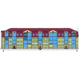 Реконструкция жилого трехэтажного дома с надстройкой четвертого этажа г. Ивдель