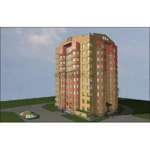 9-этажный жилой дом со встроенными нежилыми помещениями в г. Чебоксары