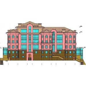 Жилое здание со встроенными административно-офисными помещениями в г.Кемерово